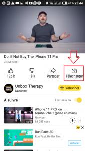 Comment télécharger les vidéos YouTube sur android et iOs