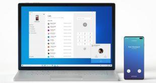 Les appels téléphoniques sont maintenant possible sous Windows 10