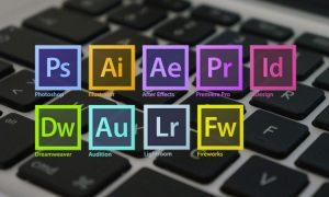 raccourcis clavier de la collection Adobe