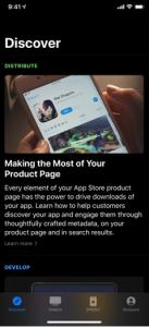 Apple Lance une Appli Mobile dédiée aux développeurs
