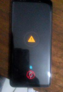 le problème de température et stop charge d'un Samsung Galaxy S9