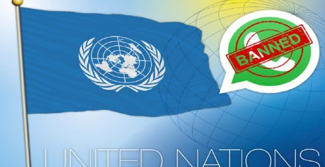 WhatsApp vient d'être interdit aux agents de l'ONU pour raison sécuritaire