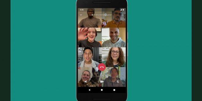 WhatsApp: Comment Passer des appels vidéo de 8 participants ?